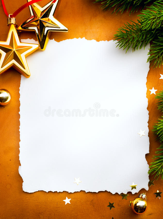 backg看板卡圣诞节问候纸张红色 库存照片