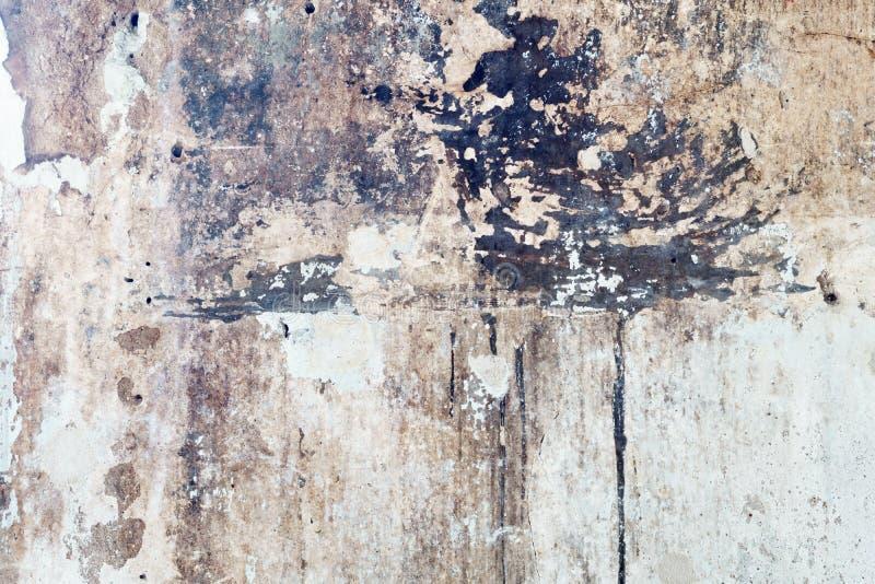 Backg branco retro da textura da parede do vintage velho sujo abstrato do grunge imagens de stock