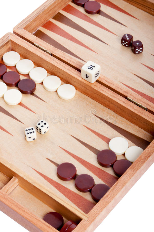 Download Backgammon stock image. Image of cutouts, indoors, plastic - 17414205