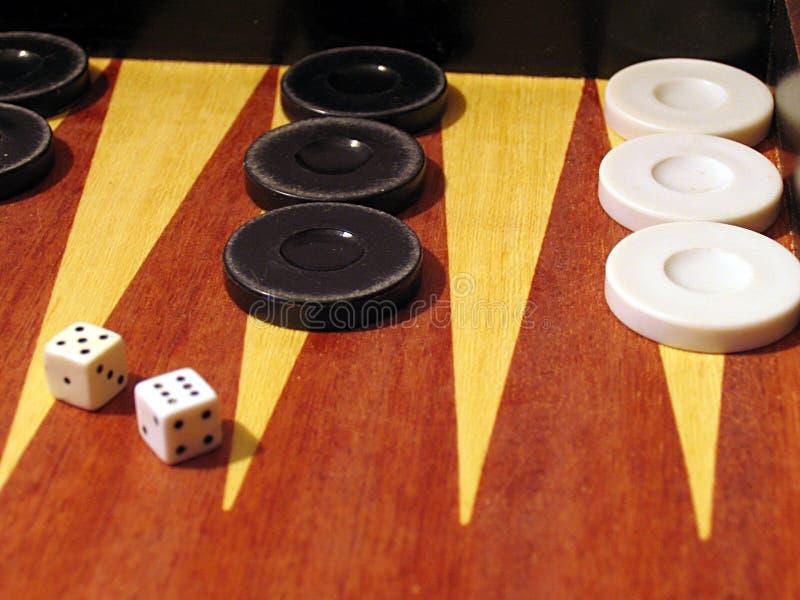 backgammon obrazy royalty free