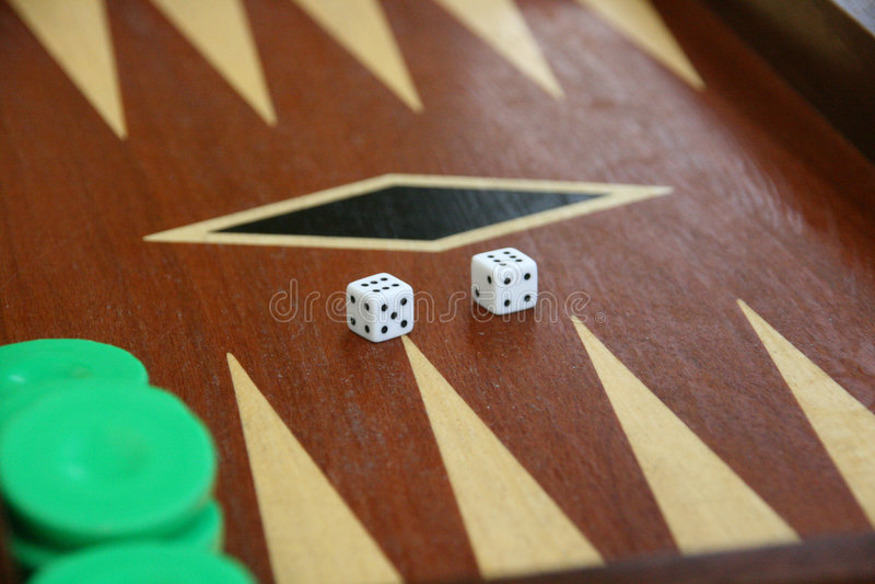 Backgammon   stockfotografie