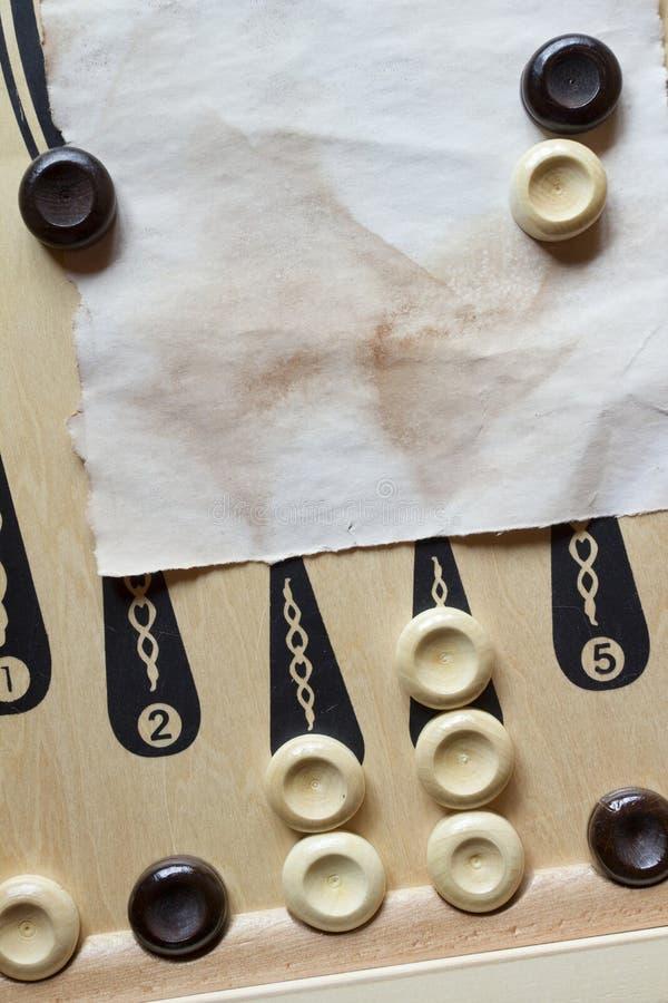 backgammon royalty-vrije stock fotografie