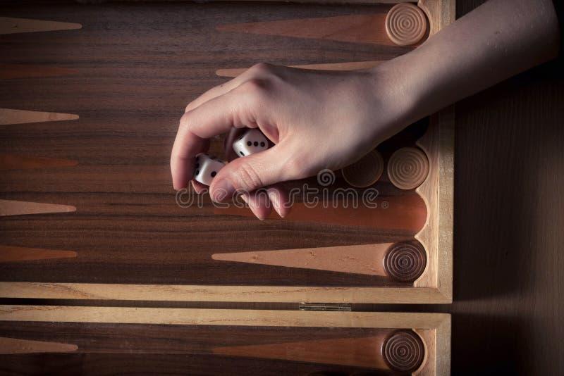 backgammon stockbilder