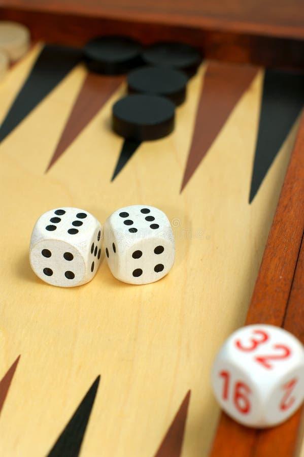 Free Backgammon Board And Dice Stock Photos - 11533793