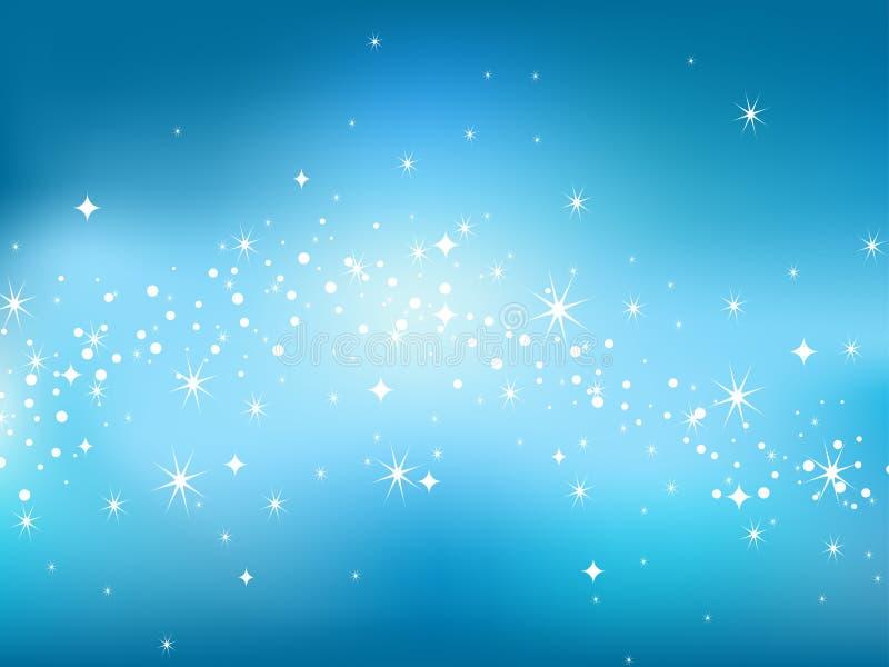 Backgaround do céu da estrela. ilustração royalty free
