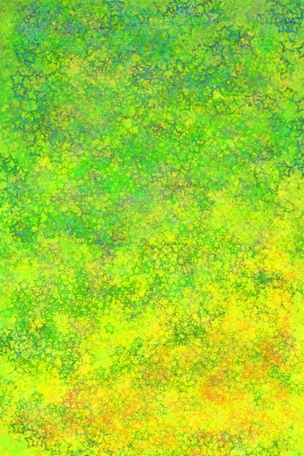 Backgoround verde e amarelo abstrato imagem de stock royalty free