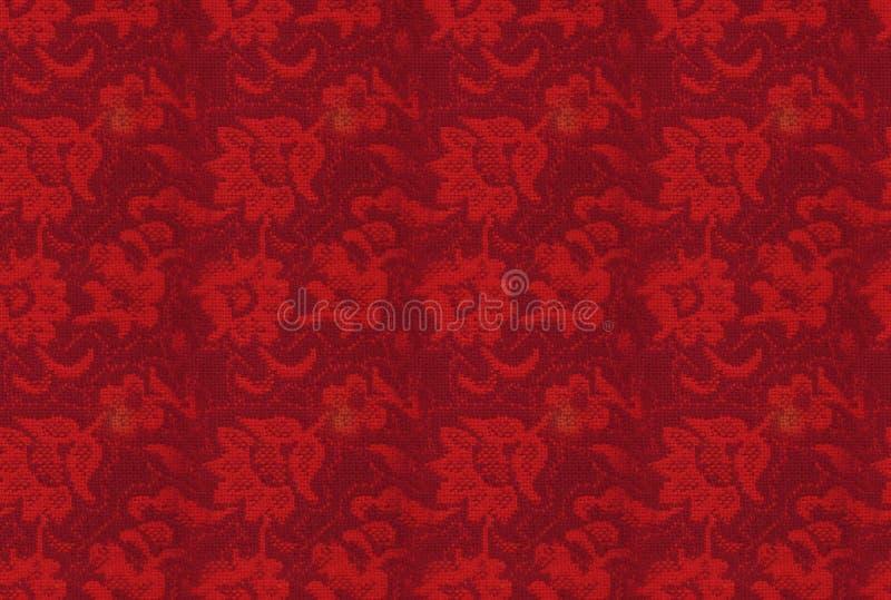 Backgorund inconsútil: textura floral retra imagen de archivo