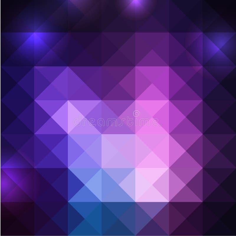 Backgound absctract gekleurde squares2 royalty-vrije stock foto's