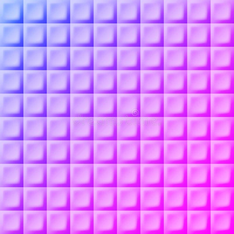 Backgound abstrait Grille au néon Rétro fond De de partie de disco illustration de vecteur