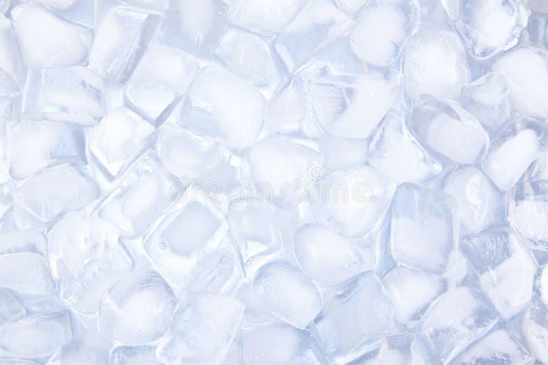 Backgound dei cubetti di ghiaccio immagini stock