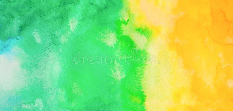Backgound dell'acquerello di Ombre Illustrazione di tiraggio della mano illustrazione vettoriale