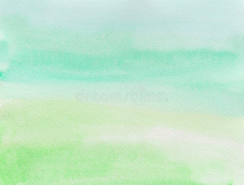 Backgound dell'acquerello di Ombre Illustrazione di tiraggio della mano illustrazione di stock