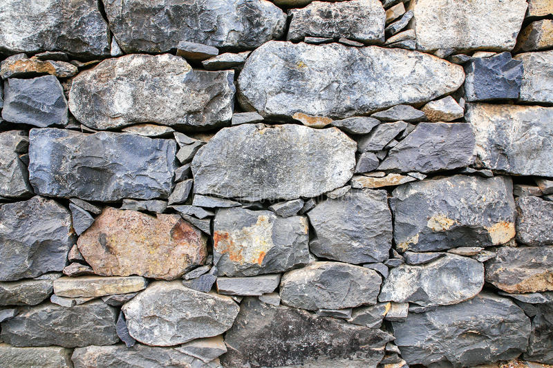 Backgound of natural stones as wall royalty free stock images