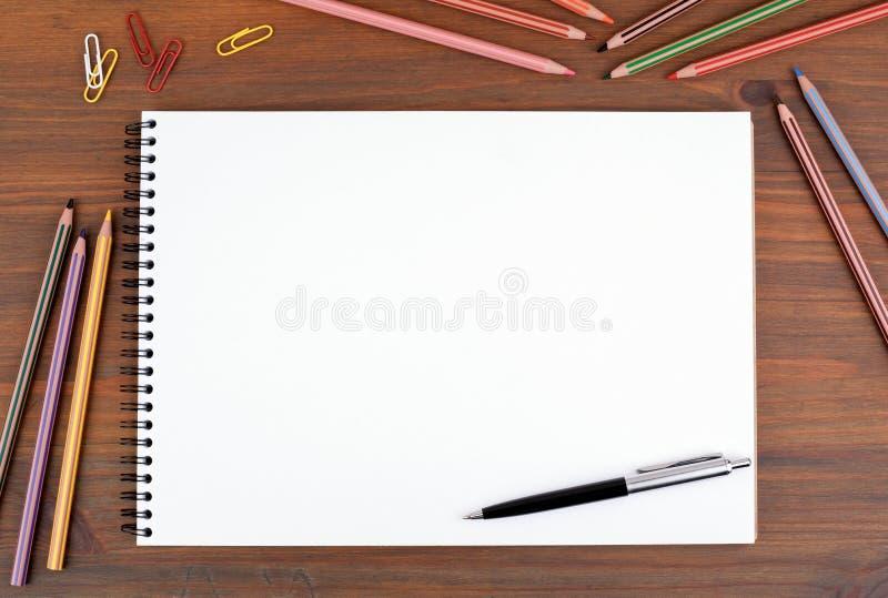 Backgound para el texto, las fotos o los dibujos Para el blog, saludos, adv foto de archivo libre de regalías