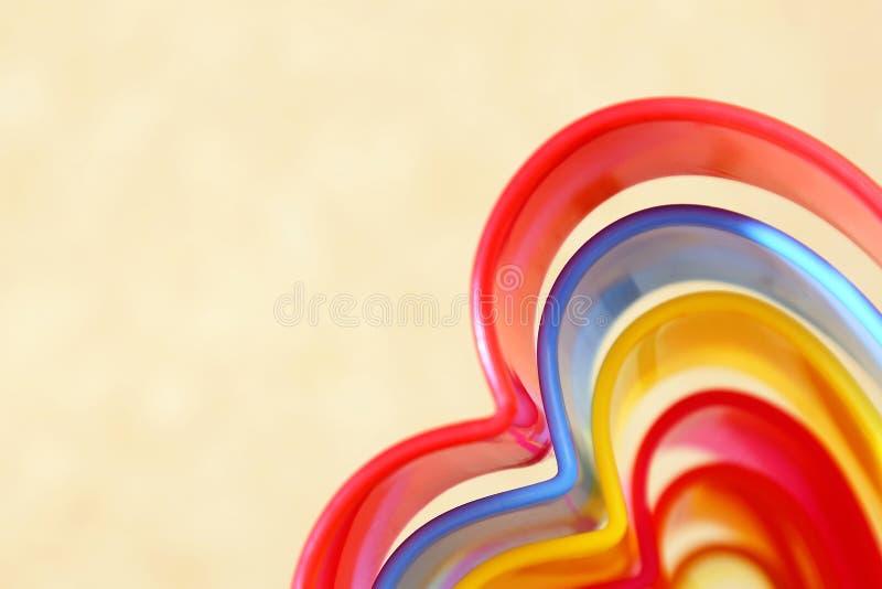 Backgr beige rectangulaire iridescent multicolore lumineux abstrait photographie stock