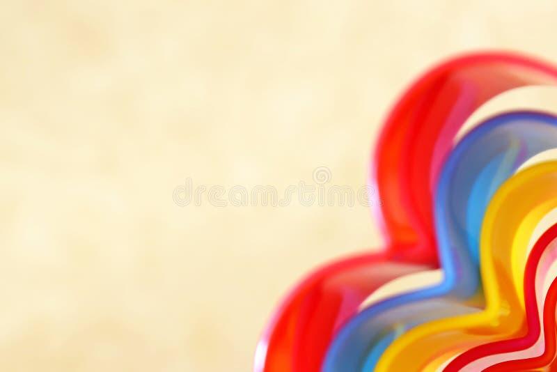 Backgr beige rectangulaire iridescent multicolore lumineux abstrait photographie stock libre de droits