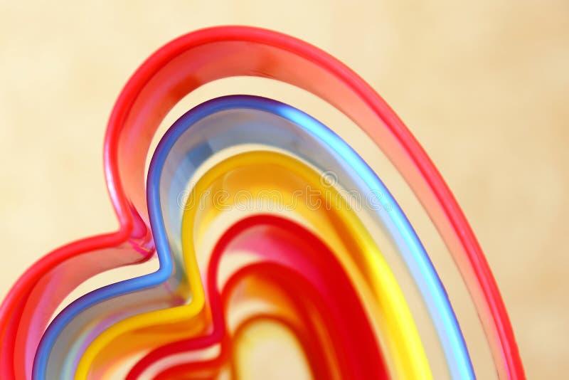 Backgr beige rectangulaire iridescent multicolore lumineux abstrait photo stock