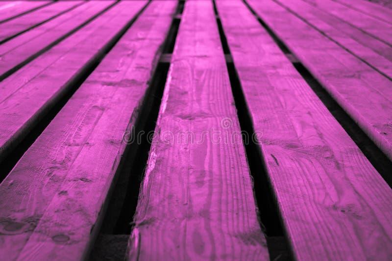 Backgr de madera violeta rosáceo rosado o purpurino púrpura áspero de la etapa fotos de archivo
