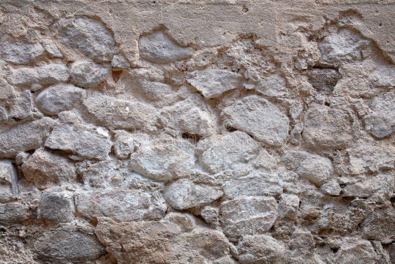 backgraund的老石墙关闭 免版税库存图片