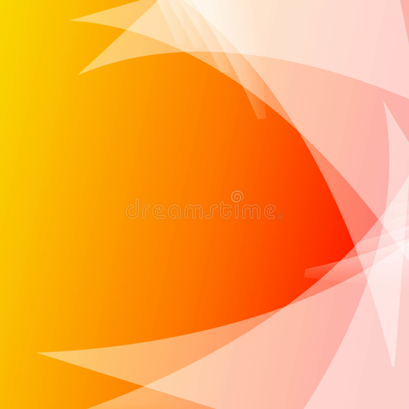 backgraund πορτοκάλι διανυσματική απεικόνιση