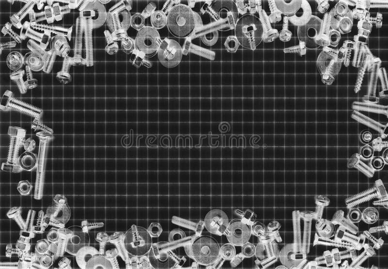 Backgraund винта и болтов стоковые фото