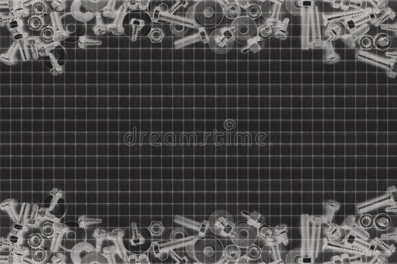 Backgraund винта и болтов стоковые изображения rf