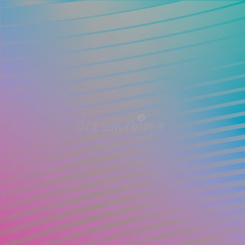 backgraund del futuristick di 80s Abstrack, colline rosa, meteore, fondo techno 1980 delle stelle cadenti royalty illustrazione gratis