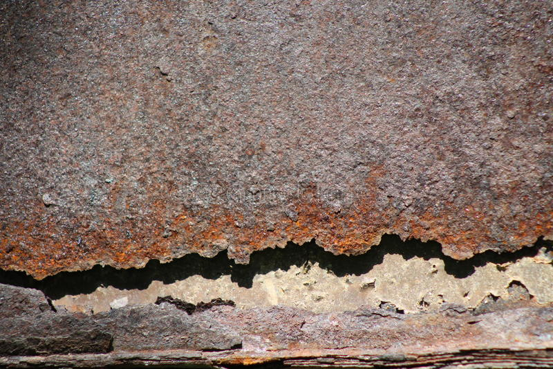Backgraund, Mooi, roestig metaal stock afbeelding