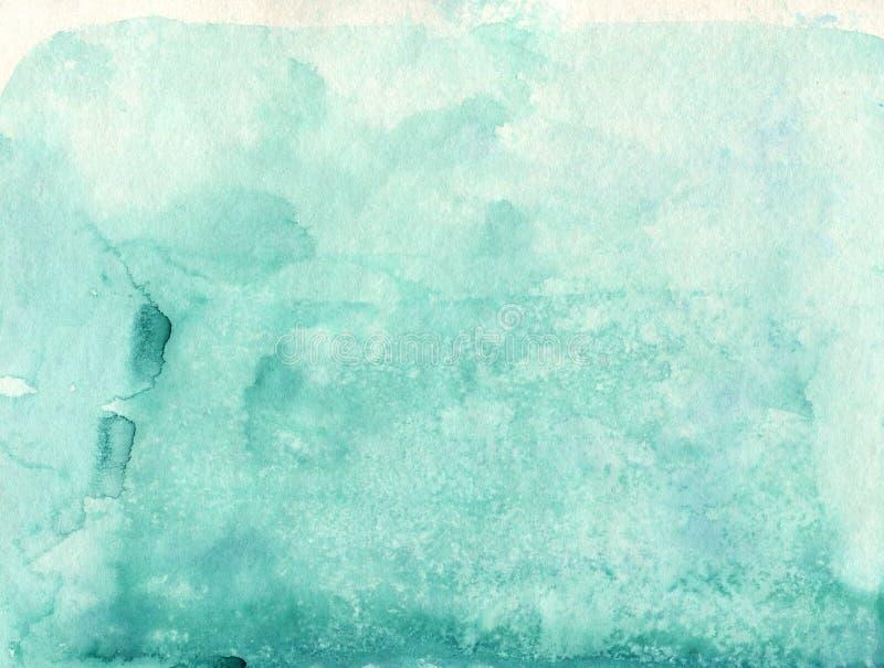 Backgraund suave de la acuarela de Absrtact Watercol ligero pintado a mano ilustración del vector
