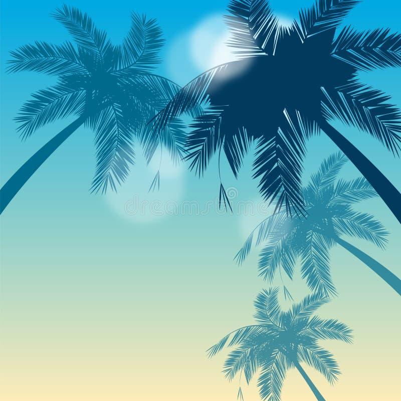 Backgraund tropicale immagine stock libera da diritti