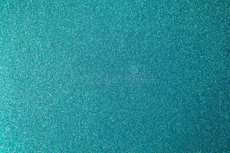 Backgrond azulverde del papel de embalaje de la aguamarina del brillo metálico, primer Copie el espacio para el texto Horizontal  foto de archivo