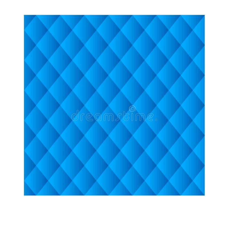 Backgrond blu di struttura illustrazione di stock