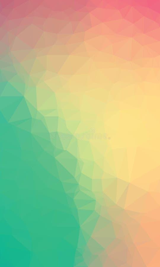 Backgroound poligonal colorido imagens de stock royalty free