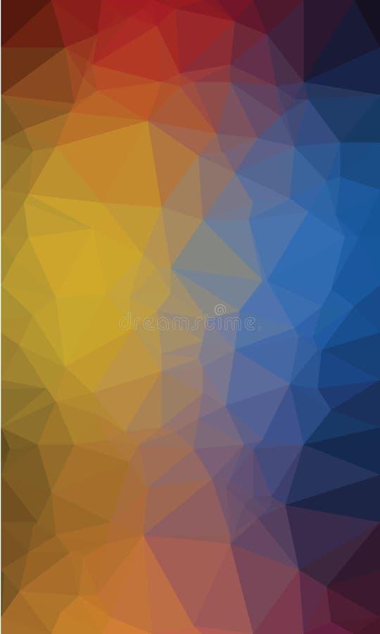 Backgroound poligonal colorido foto de stock royalty free