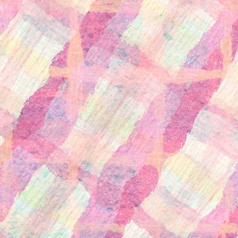 Backgrou rosa di progettazione della carta da parati di astrattismo di struttura della parete di lerciume illustrazione vettoriale