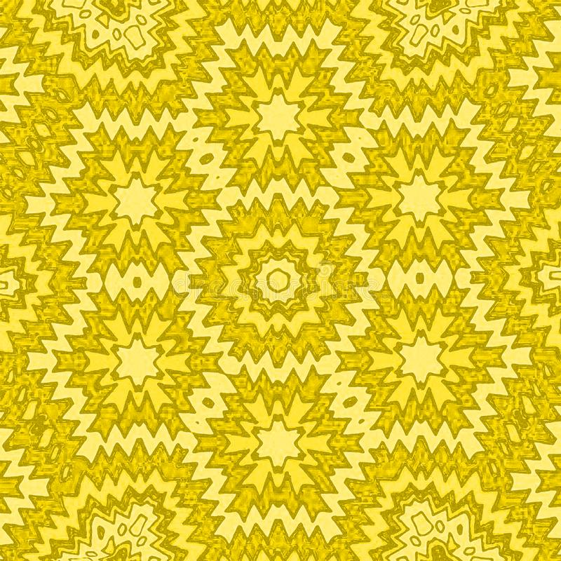 Backgroubd abstrait avec la couleur jaune illustration de vecteur
