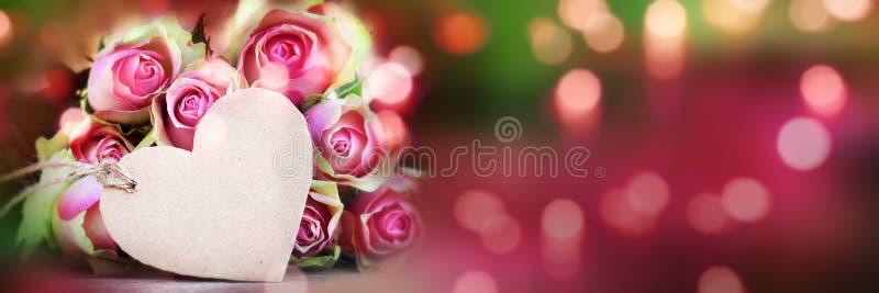 Backgroud de bokeh de roses pour le jour de mères image stock