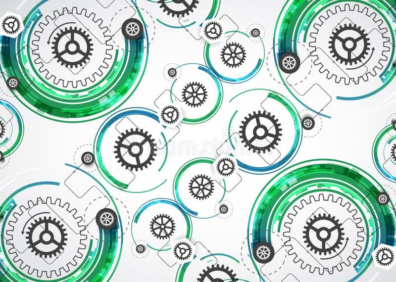Download Backgroun Astratto Di Affari Di Tecnologie Informatiche Di Tecnologia Di Colore Illustrazione Vettoriale - Illustrazione di colleghi, industria: 56892844