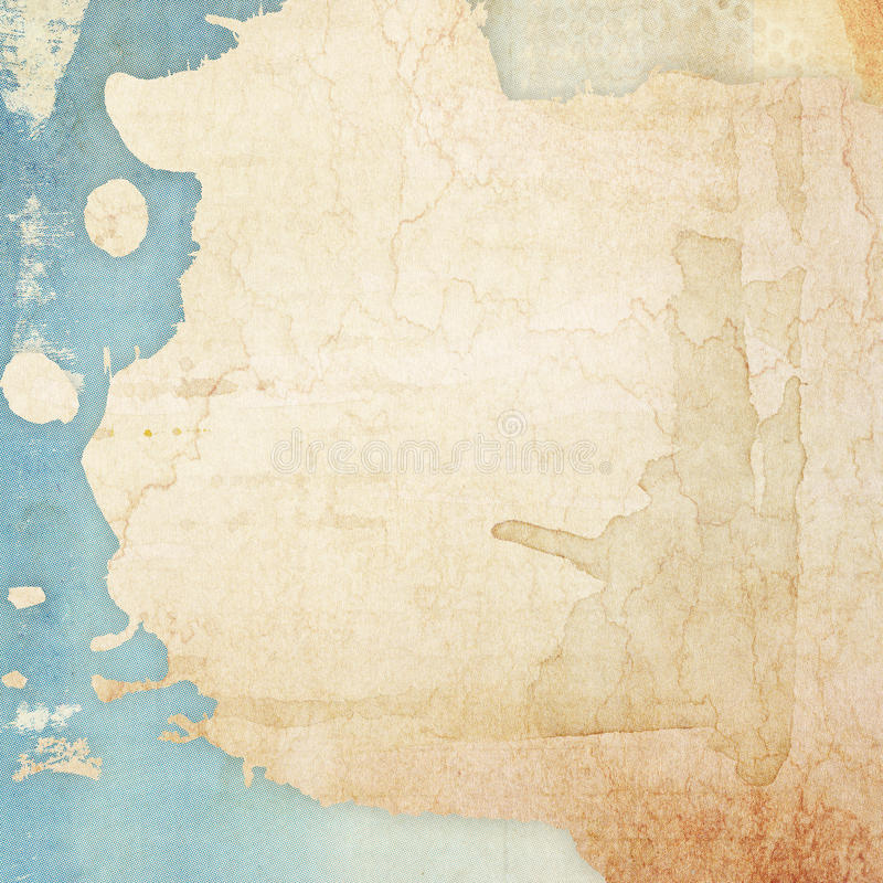 Background. Designed abstract grunge paper background royalty free illustration