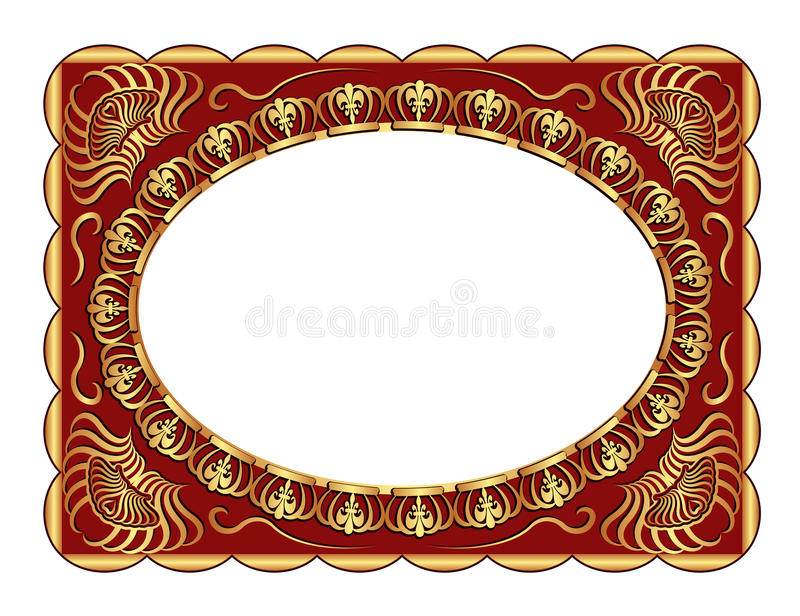 Download Background stock vector. Illustration of brushed, border - 23845648