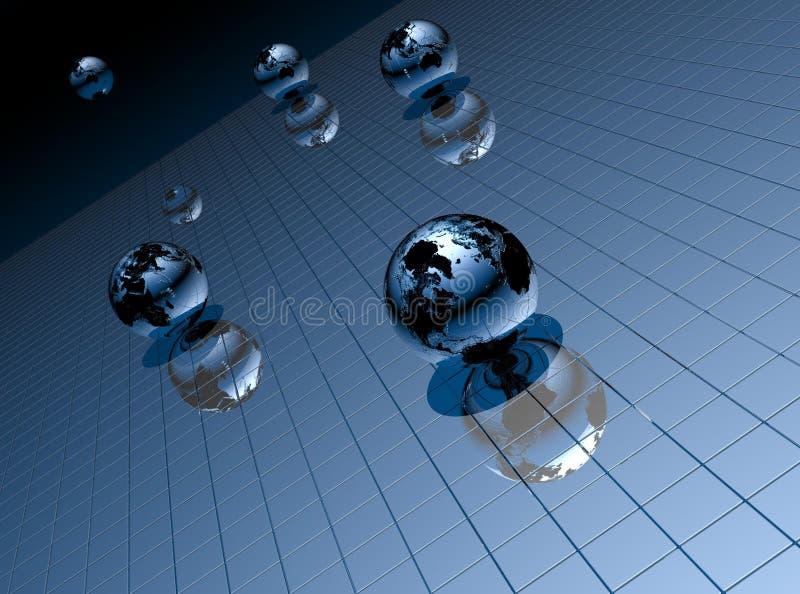 Background 3D vector illustration
