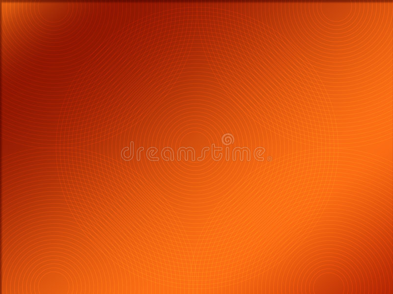 Background. Retro round line with brown colour background royalty free illustration