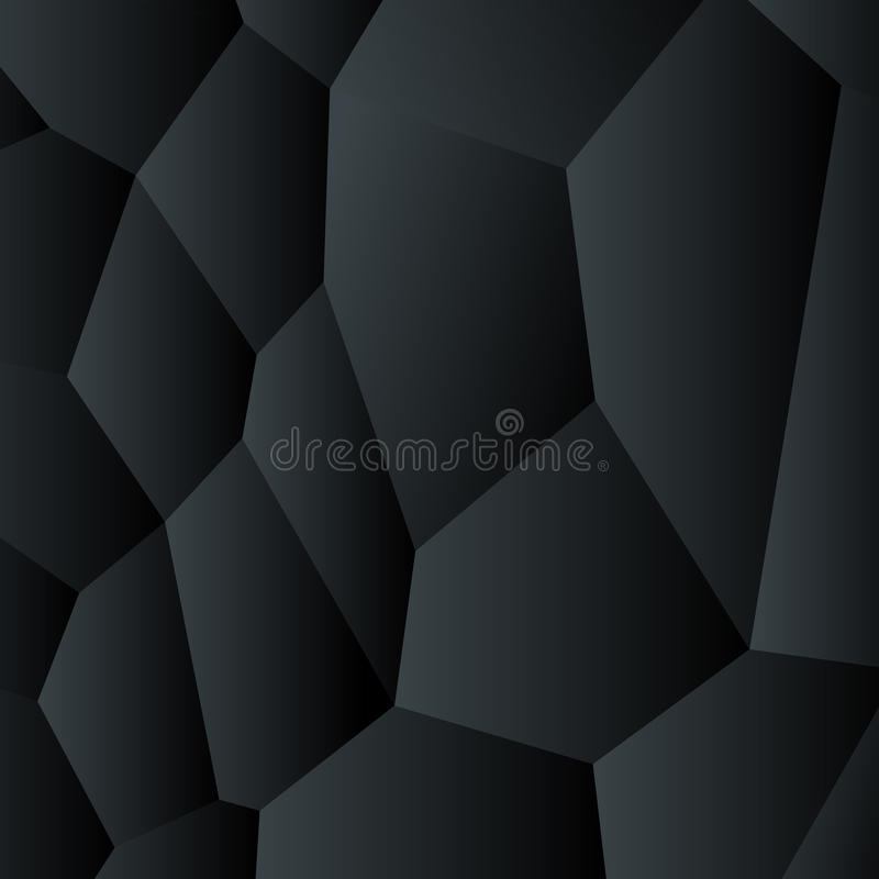Background abstract black vector creative design. royalty free illustration