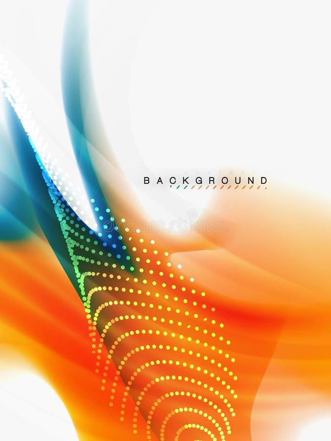 Background abstract color flow, liquid design. Vector vector illustration