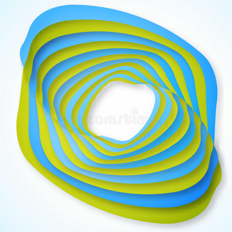 Download Background stock vector. Image of isolated, curve, blue - 33553366