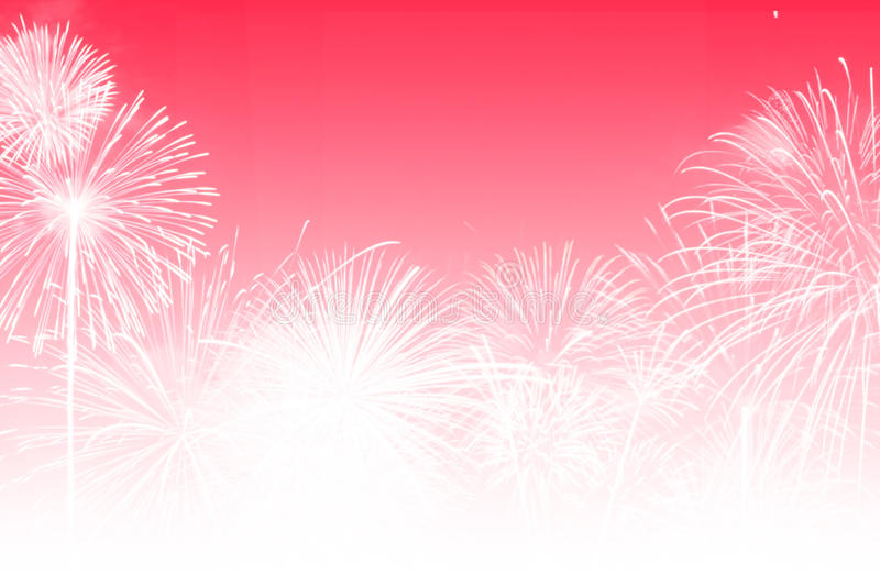 Background abstract. Festival,firework red colortone,happy new year stock illustration