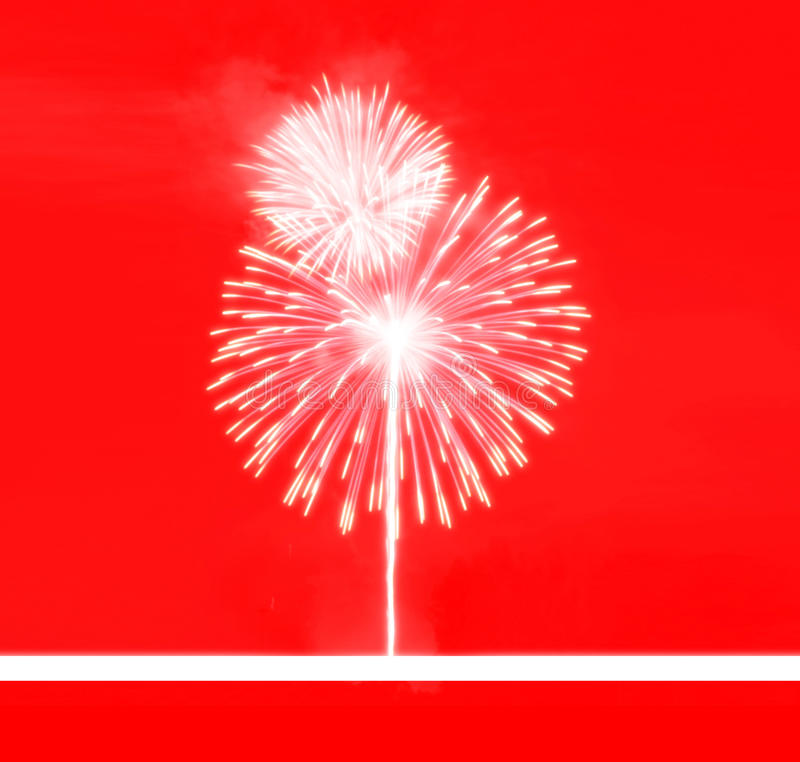 Background abstract. Festival,firework red colortone,happy new year royalty free illustration