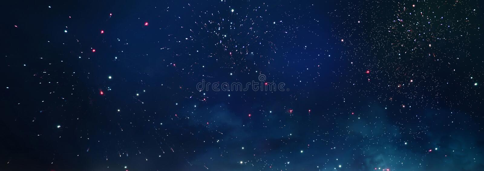 Background and abstract. Galaxy, nebula and Starry outer space texture.  stock images