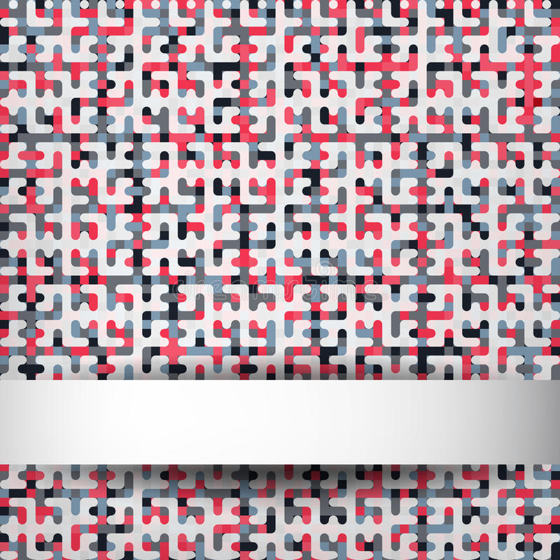 Download Background stock vector. Image of shape, mosaic, square - 32783491