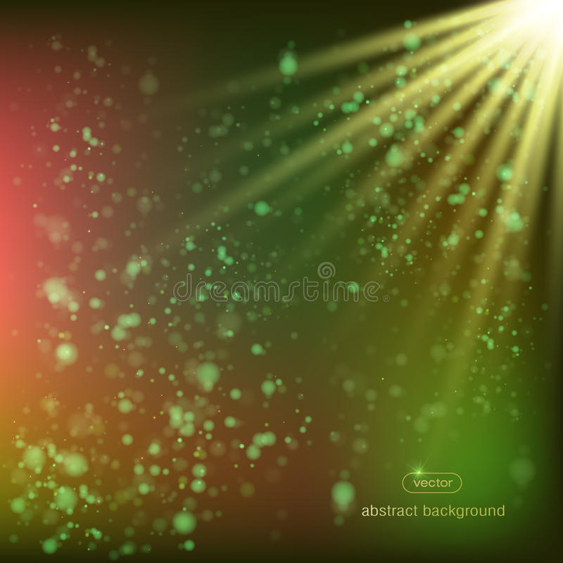 Background abstract rays of the sun, royalty free illustration